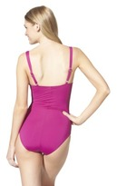 Sara Blakely ASSETS® By A Spanx® Brand Women's 1-Piece Swimsuit -Assorted Colors