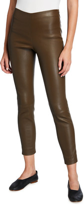 Vince Leather Stitch Back Leggings