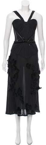 Christian Dior Silk Evening Dress