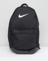Nike Brasilia Backpack With Just Do It Logo