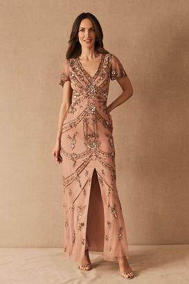 Aidan Mattox Fatima Dress By in Pink Size 0