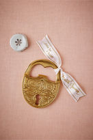 BHLDN Love Lock Bottle Opener