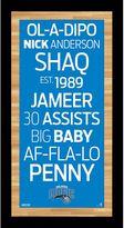 """Steiner Sports Orlando Magic 19"""" x 9.5"""" Vintage Subway Sign"""