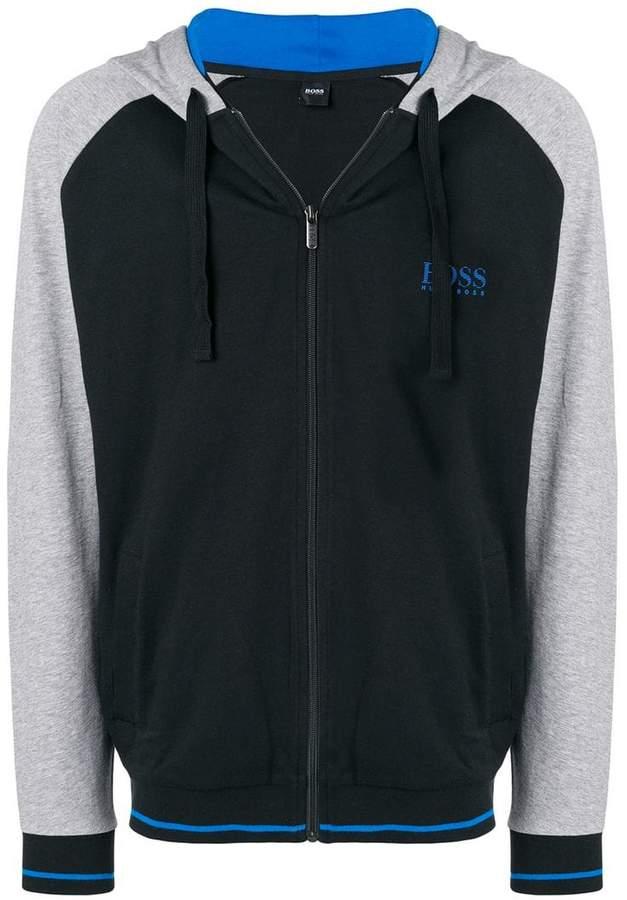 HUGO BOSS brand zipped hoodie