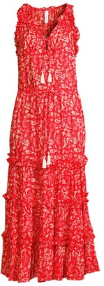 Cool Change Claudia Floral Print Midi Dress