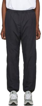 paa Black Nylon Windbreaker Lounge Pants