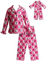 Dollie & Me Girls 4-14 Sheep Pajama Set