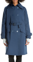 Max Studio Front-Belted Trench Coat