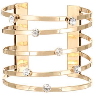 Nina Multi Row Metal Cuff Bracelet