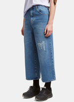 J.w. Anderson Men's Oversized Fit Jeans In Blue