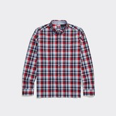 Tommy Hilfiger Seated Fit Stretch Plaid Shirt