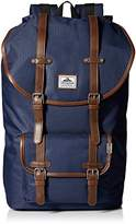 Steve Madden Men's Solid Nylon Utility Backpack