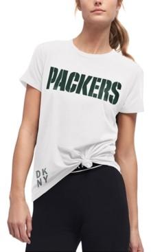 DKNY Women's Green Bay Packers Players T-Shirt