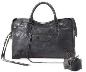 Balenciaga Vintage City Leather Handbag