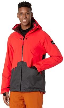 O'Neill Quartzite Jacket (Fiery Red) Men's Coat