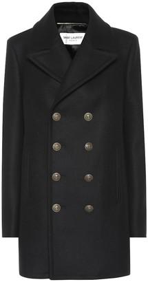 Saint Laurent Virgin wool coat