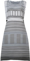 Issey Miyake tribal print sleeveless dress - women - Polyester - 2