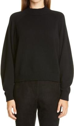 Lafayette 148 New York Round Sleeve Cashmere Sweater
