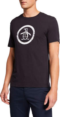 Original Penguin Men's Basic Circle Logo T-Shirt