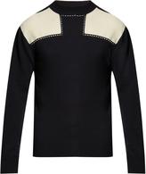 Raey Patch shoulder cashmere sweater