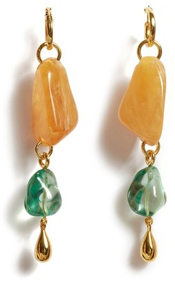 Lizzie Fortunato Waterfall Earrings in Multi