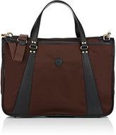 Felisi Men's Double-Handle Briefcase-BROWN