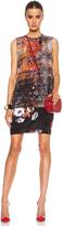 MSGM Printed Mini Shift Dress
