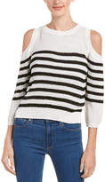 J.o.a. Cold-Shoulder Sweater