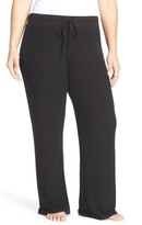 Make + Model Plus Size Women's 'Best Boyfriend' Brushed Hacci Lounge Pants