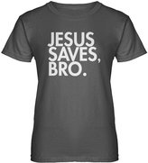 Indica Plateau Womens Jesus Saves Bro T-Shirt