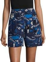 Michael Kors Welcome Silk Shorts