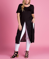 Black Multi-Way Tunic - Plus