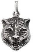 Gucci Feline Head Charm