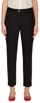 Dolce & Gabbana Cotton Rolled Cuff Skinny Pant