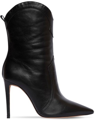 Alexandre Birman 100mm Ester Leather Cowboy Boots