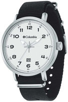 Columbia Mens Black FieldMaster Strap Watch