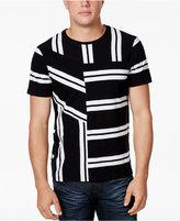 GUESS Men's Leer Stripe T-Shirt