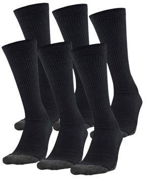 Under Armour Performance Tech 6-Pack Crew Socks