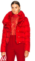Givenchy Puffer Jacket in Red.