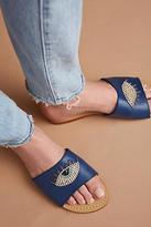 Mystique Winking Eye Sandals