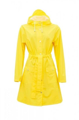 Rains Yellow Curve Jacket - XS/S