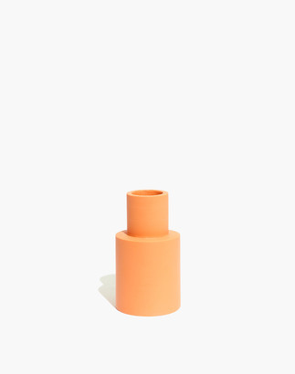 Madewell x Capra Designs Small Vase in Solid Peach