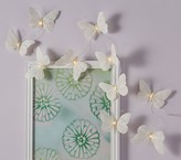 Pottery Barn Kids Feather Butterfly String Lights