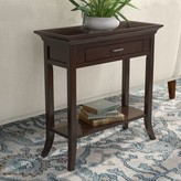 Clermont Tray Edge Console Table Charlton Home