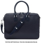 Aspinal Of London Mount Street Small Briefcase Navy