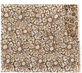 Barba macro floral print scarf