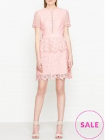 Ted Baker Dixia Broderie And Lace Dress