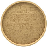 Kraftware 14 Natural Cork Serving Tray