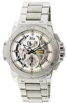 Reign Commodus REIRN4006 Men's Silver Stainless Steel Automatic Watch