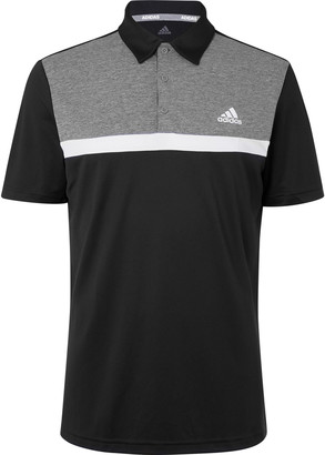 adidas Novelty Colour-Block Jersey Golf Polo Shirt